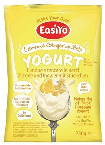 Easiyo Lemon & Ginger with Bits Yogurt 240g