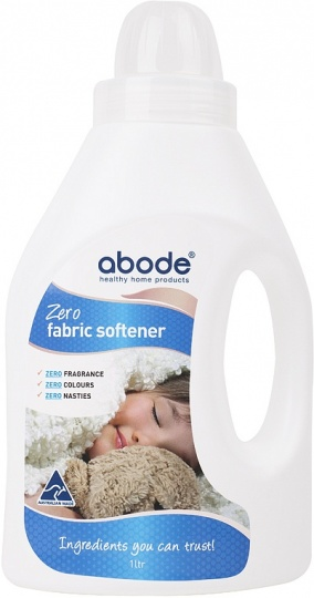 Abode Fabric Softener ZERO Fragrance Free 1L