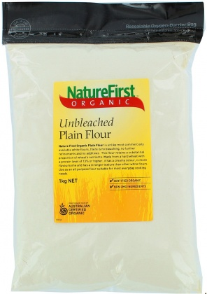 Natures First Organic Unbleached Flour 1Kg