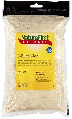 Natures First Organic Millet Meal 500gm
