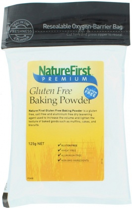 Natures First Gluten Free Baking Powder 125g