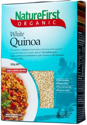 Natures First Organic White Quinoa 300g
