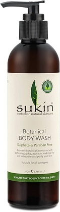 Sukin Botanical Body Wash Pump 250ml
