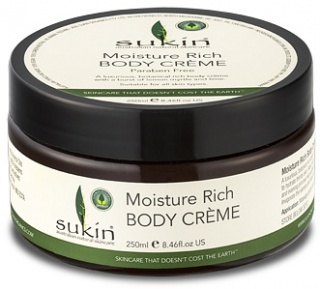Sukin Moisture Rich Body Creme 250ml