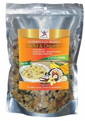 Dr Superfoods Wild & Organic Tropical & Exotic Muesli (Toasted) Bag 500g