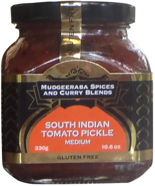 Mudgeeraba South Indian Tomato Pickles 330g