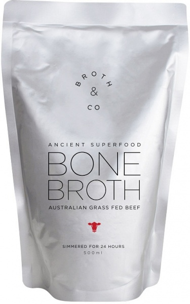 Broth Bliss Bone Broth Grass Feed Beef 500ml Pouch