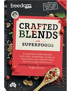 Freedom Foods Crafted Blends Berries Cereal 390g