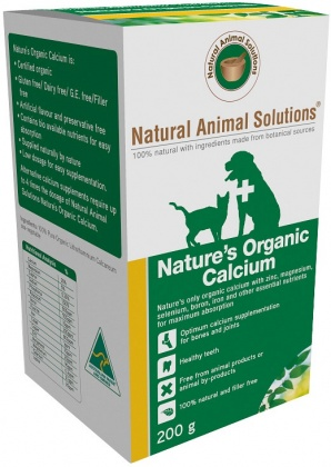Natural Animal Solutions Nature's Calcium 200g