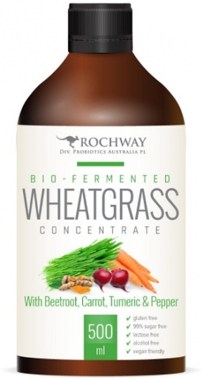 Rochway Wheatgrass,Beetroot,Carrot Probiotic 750ml