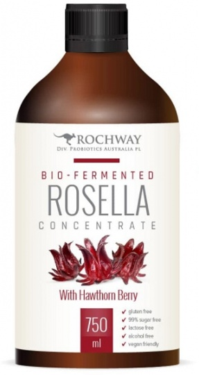 Rochway Rosella & Hawthorn Berry Probiotic 750ml