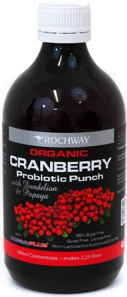 Rochway Organic Cranberry w/MultiplyPlus  500ml