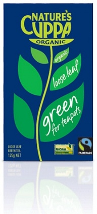 Natures Cuppa Green Loose Leaf Tea 125g