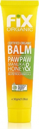 Fix Organic Paw Paw & Manuka Honey Balm 30g