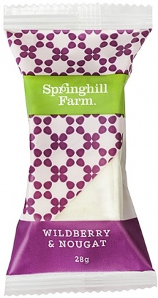Springhill Farm Widberry & Nougat Wrapped Bites 27x28g