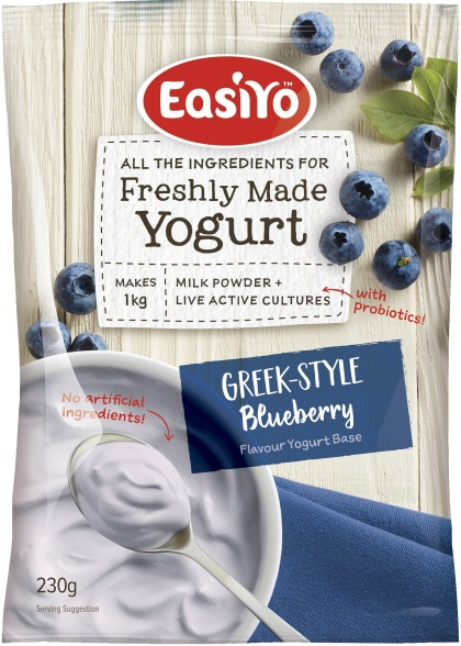 Easiyo Blueberries & Cream Yogurt 230g