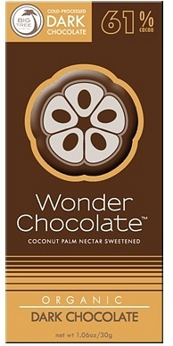 Big Tree Farms Wonder Chocolate Raw Dark Choc 61% Cacao 30g