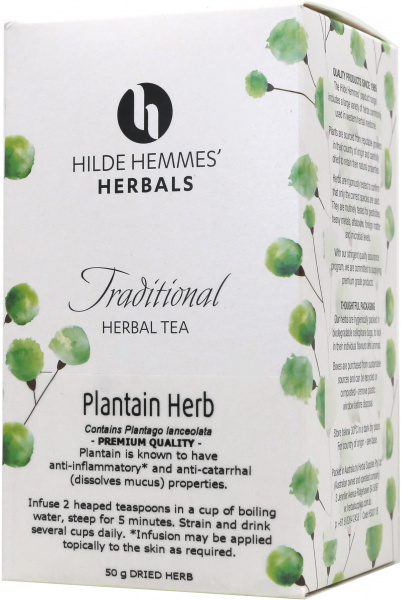 Hilde Hemmes Plantain Herb 50gm