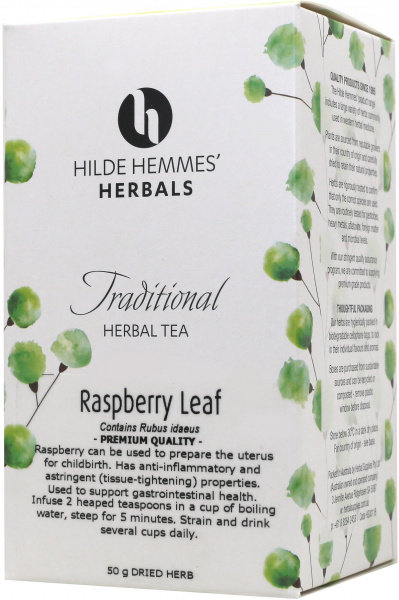 Hilde Hemmes Raspberry Leaf 50gm