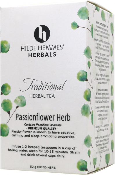Hilde Hemmes Passionflower Herb 50gm