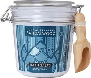 Mount Romance Sandalwood Bath Salts 500g