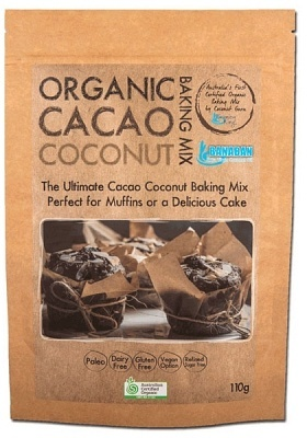 Banaban Organic Cacao Coconut Baking Mix 110g