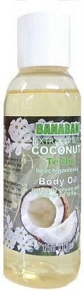 Banaban Extra Virgin Coconut TE URI Body Oil 125ml