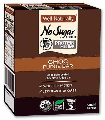 Well,naturally Hi Pro MiniBars Double Choc25gx5Bar