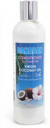 Banaban Virgin Coconut Oil Conditioner Silicone Free  300ml