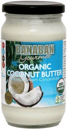 Banaban Organic Coconut Butter 340g REPLACE with 250g 75537