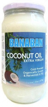 Banaban Extra Virgin Coconut Oil 1Ltr (Glass)