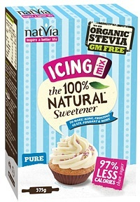 NatVia S/F Icing Mix Box 375g