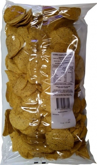 Mexicana Organic Corn Chips 3kgm