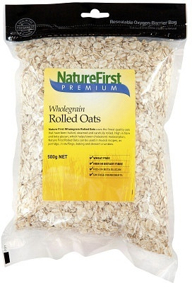 Natures First Oats Rolled 500g