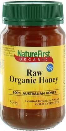 Natures First Organic Raw Honey 500gm