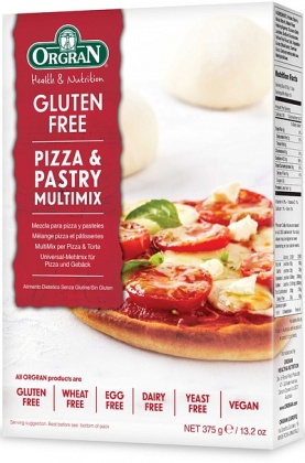 Orgran Pizza Pastry Mix 375gm