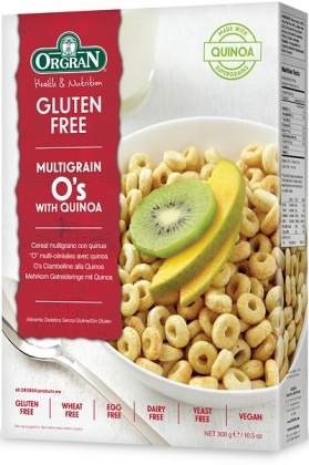 Orgran Multigrain O's with Quinoa 300g