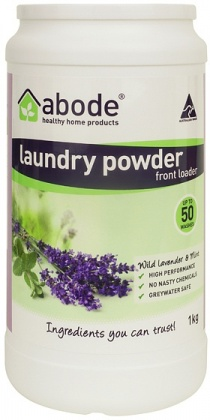 Abode Front Loader Lavender & Mint Laundry Powder 1kg