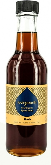 Loving Earth Organic Agave Syrup Dark 250ml