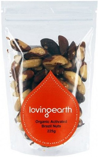 Loving Earth Organic Activated Brazil Nuts 225g