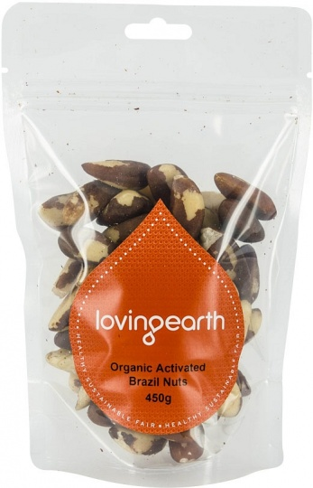 Loving Earth Activated Brazil Nuts 450g