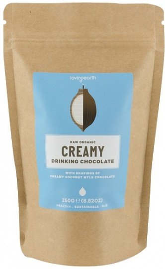 Loving Earth Creamy Drinking Chocolate 250g