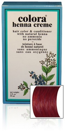 Colora Henna Creme 59ml - Burgundy
