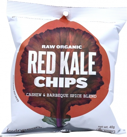 Loving Earth Red Kale Chips 8x40g