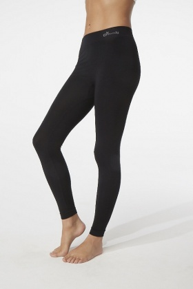 Boody Organic Bamboo Full Leggings Black  M