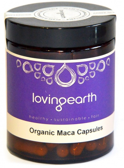 Loving Earth Maca in Vegetable Capsules 500mg 120caps
