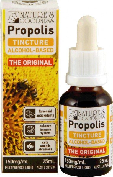 Natures Goodness Prop Tincture 150mg/ml 25ml