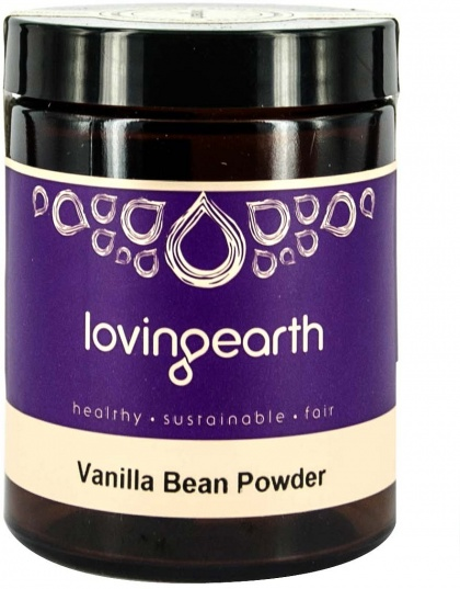 Loving Earth Vanilla Bean Powder 75g