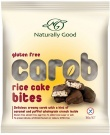 Naturally Good Carob Rice Cake Bites 150g