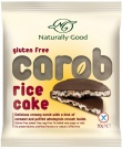 Naturally Good Carob Rice Cake 10 x 50g